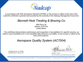 Newark-Aerospace-Quality-System-(AC7004)